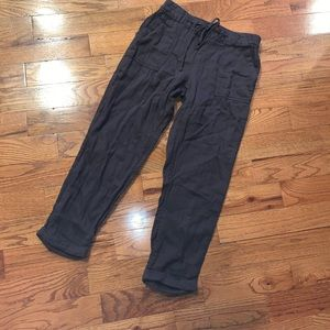 Women's old navy linen ankle pant